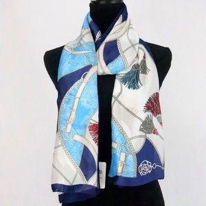 Silk feeling scarf